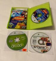 PopCap Arcade Vol 1 Arcade Unplugged & Arcade Game Lot Microsoft Xbox 360 FAMILY
