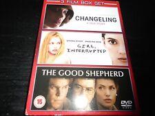 Changeling/Girl, Interrupted/The Good Shepherd Dvd