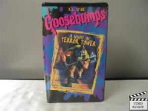 Goosebumps - A Night in Terror Tower (VHS) R.L. Stine