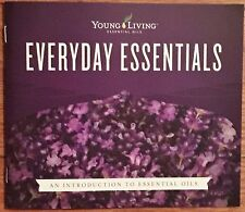 YOUNG LIVING EVERYDAY OIL BOOK BROCHURE BOOKLET 17 pg Full Color Chart FREE SHIP