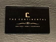 Continental Hotel Key Card!! NEW CASABLANCA Location Added!! (2 Cards)