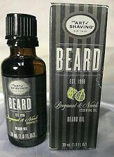 The Art Of Shaving Beard Oil Bergamot & Neroli Essential Oil Conditions 1 Fl. Oz