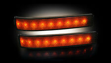 RECON FORD F150/RAPTOR SMOKED MIRROR LIGHTS w/ AMBER LED'S 09-14 PART# 264241BK