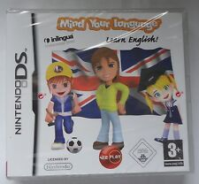 MIND YOUR LANGUAGE LEARN ENGLISH TUITION DS LITE DSi brand new & sealed UK!