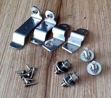 AUDI 80 b4 v6 de s2 CABRIO COUPE FANALI DI RICAMBIO SUPPORTO (destra) in acciaio inox