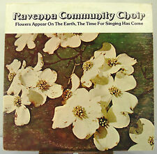 "12"" 33 RPM LP - PINEBROOK PB-1337 - RAVENNA (OHIO) COMMUNITY CHOIR (1978)"