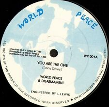 "WORLD PEACE AND DISARMAMENT you are the one WP 001 uk world peace 12"" WS EX/"