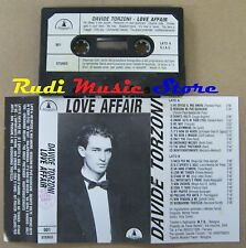 MC DAVIDE TORZONI Love affair Italy DELICADO Ferrara Bertelli no cd lp dvd vhs