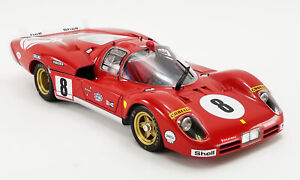 1:18 scale Ferrari 512S Longtail #8-From Movie 'Le Mans' - A-M1801003