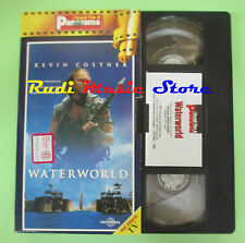 film VHS cartonata WATERWORLD Kevin Costner Hopper Reynolds PANORAMA(F47*)no dvd