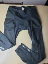 Lameda Cycling Pants - 3XL black padded fleeced cycling pants