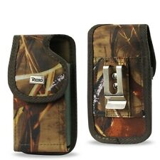 For iPhone 5 Case Vertical Rugged Pouch Cover with Metal Belt Clip Camouflage