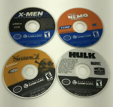 X-Men: Next Dimension Hulk Nemo Sherk 2 Video Game Disc Only Lot Tested