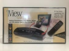 TView Gold Focus Enhancements - PC to TV Video Conversion - Factory Sealed