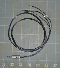 connecting cable for lambic paddle key 1/8 In. (3.5mm) phone plug, morse code Cw