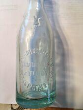 Elk bottling company Westpoint Nebraska soda pop bottle embossed