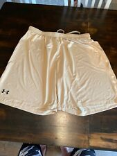 Under Armour Basketball Shorts Men's Size 2XL Gold HeadGear UA