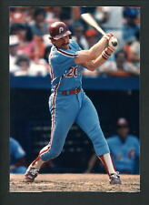 Mike Schmidt Press Original COLOR Photo 5 x 7 Philadelphia Phillies batting