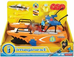 Imaginext Turbo Rescue Boat by Fisher Price