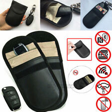 2 Pack Keyless Entry Car Key Fob Signal Blocker Case Protector Faraday Bag Pouch