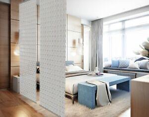 YourCasa - Raumteiler Paravamt hängend [Designelement] Blickfang 120 x 240 cm