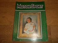 MOTOR SPORT MAGAZINE JANUARY 1972 ~ EXCELLENT CONDITION VINTAGE MAGAZINE