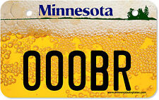 ATV license Plate, Minnesota Beer ATV License Plate