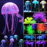 Soft Glowing Effect Artificial Jellyfish Coral Fish Tank Decor Aquarium Ornament