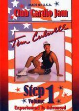 TIM CULWELL CLUB CARDIO JAM CREATIVE STEPPS DVD STEP WORKOUT NEW TO DVD