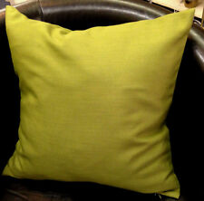 Green Linen Blend Evans Lichfield Cushion Cover