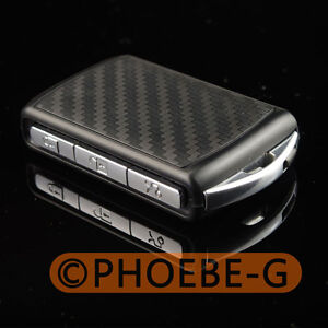 Remote Key Shell Case Fob Carbon Fiber 3D Pattern for VOLVO 2016 XC90