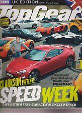 BBC TOP GEAR MAGAZINE UK August 2012, Speed Week.