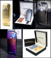 Electric Lighter PRIMO Exclusive Single Arc Windproof USB Rechargeable GIFT SET!