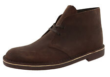 MENS CLARKS BUSHACRE 2 26082286 COLOR:BEESWAX WIDE WIDTH DESERT BOOTS
