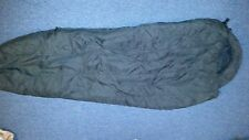 1 Military Intermediate Cold Weather Sleeping Bag -BLACK -USGI Modular sleep sys