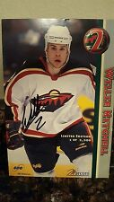 Willie Mitchell Minnesota Wild Limited Edition Signed Autographed Card