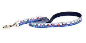 Douglas Paquette SPINNAKER Nylon & Ribbon Adjustable Dog Toy Lead