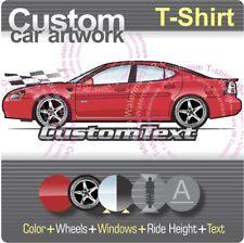Custom T-shirt 2004 04 05 06 07 2008 Pontiac Grand Prix GT1 GT2 GTP Comp-G GXP