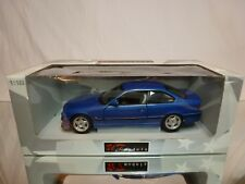 UT MODELS 1:18 - BMW M3 COUPE - METALLIC BLUE - EXCELLENT CONDITION IN BOX