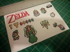 Zelda Sticker Sheet