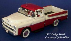 Danbury Mint 1957 DODGE D100 PICKUP TRUCK 1/24 MIB!