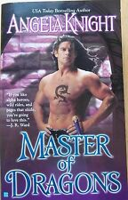 Master of Dragons by Angela Knight (Paperback, 2007)