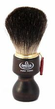 Omega 6126 Pure Badger Shaving Brush with Ovangkol Wooden Handle