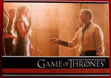 GAME OF THRONES - Season 4 - Card #23 - MOUNTAIN & THE VIPER - Rittenhouse 2015