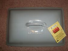 "Le Creuset Rectangular Casserole Stoneware LID    12 3/8"" Grey"