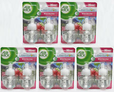 10 Refill Air Wick Wild Berries Fragrance Scented Essential Oil Refills (5 Pack)
