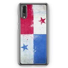 Huawei p20 Hard Cover Housse Panama Grunge Motif Design housse pour téléphone portable Housse De Protection C