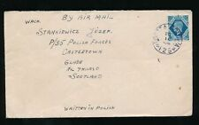 Pre-Decimal Used Air Mail European Stamps