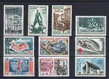 France 10 timbres non oblitérés gomme**  37  Divers