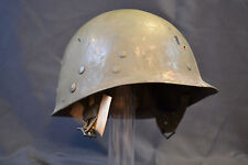 WWII US PARATROOPER AIRBORNE WW2 HELMET LINER ORIGINAL USA CAPAC NAMED